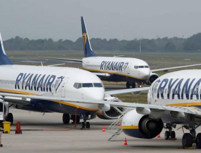 Ryanair: Προσφορά - «φωτιά» μόνο για σήμερα, κλείστε τα εισιτήρια σας από 9,99€!