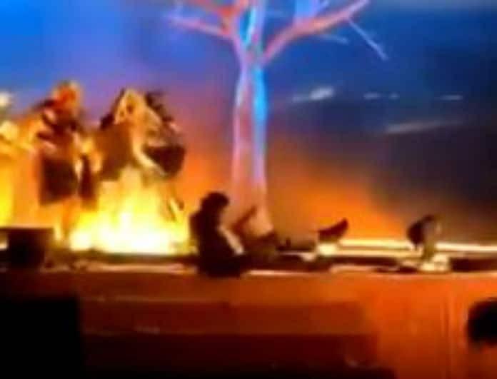 Σοκ! Άνδρας μαχαίρωσε τρεις ηθοποιούς κατά τη διάρκεια παράστασης!