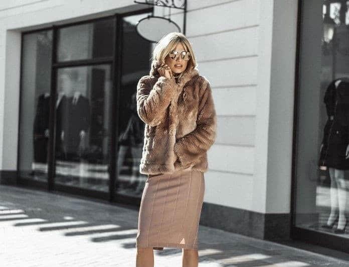 Φαίη Σκορδά: Η φούστα της δεν έχει κουμπιά, αλλά είναι πολύ ιδιαίτερη! Κοστίζει 69 ευρώ...