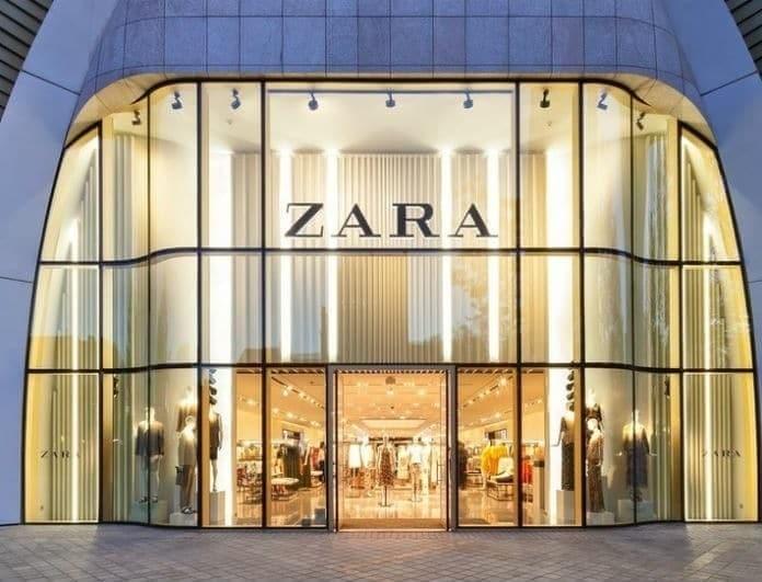 Zara - νέα συλλογή: Αυτό το γυαλιστερό φόρεμα θα σου δώσει άλλο ύφος! Θα το φορέσεις και θα σε κοιτάνε όλοι!