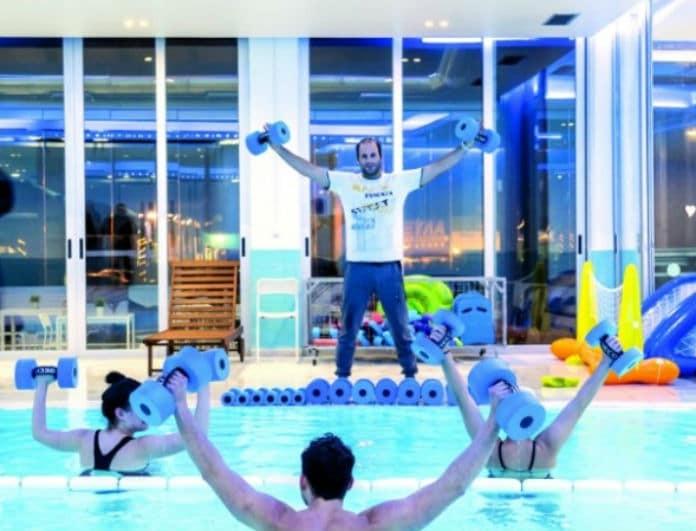 Blue Water: Πέντε νικητές θα πάρουν από μια μηνιαία συνδρομή για ελεύθερη κολύμβηση ή aqua aerobic!