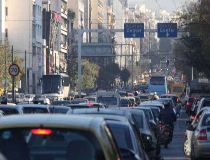 Κλειστοί δρόμοι στο κέντρο της Αθήνας! Τι συνέβη;
