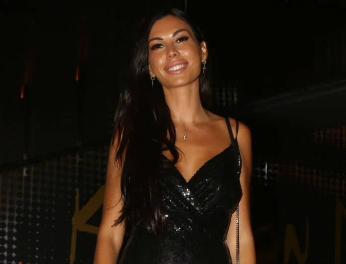 Ιωάννα Μπούκη: Έλαμπε ολόκληρη με το μαύρο κολλητό της σύνολο! Την κοίταζαν όλοι...