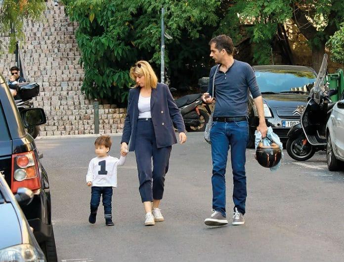 Κώστας Μπακογιάννης - Σία Κοσιώνη: Με το μικρό τους «θαύμα» στον ζωολογικό κήπο!