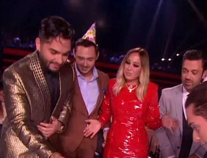X-Factor: Η έκπληξη στον Χρήστο Μάστορα και η τούρτα υπερπαραγωγή! Πόσο χρονών έγινε; (Βίντεο)