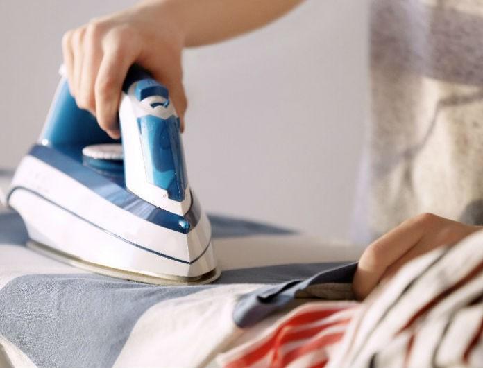 Κάντε το σιδέρωμα... παιχνιδάκι με τα απλά μυστικά από το μπαούλο της γιαγιάς!
