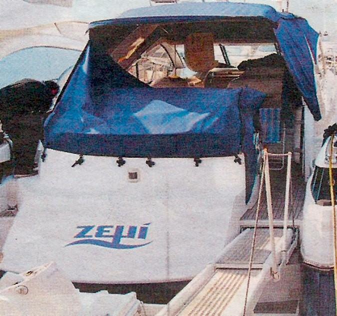 Ζέτα Μακρυπούλια Χατζηγιάννης σκάφος