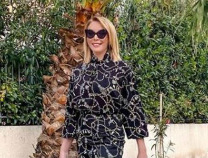 Τατιάνα Στεφανίδου: Η λεπτομέρεια στην μπλούζα της προκαλεί