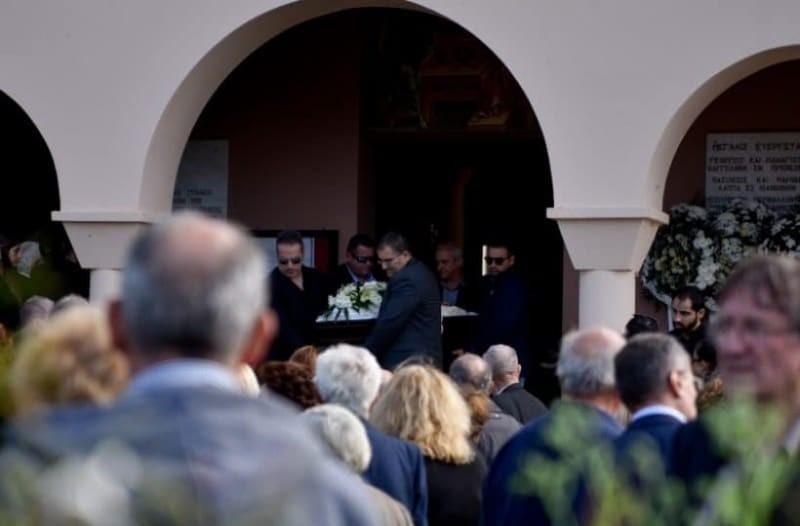Περικλής Βασιλάκης κηδεία