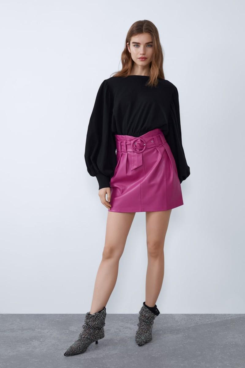 Ζαρα μίνι φούστα