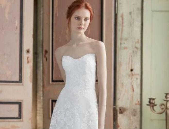 Αν είσαι μέλλουσα νύφη αυτά τα νυφικά σε Α γραμμή θα τα λατρέψεις! Κρατούν τα πράγματα... κλασσικά!