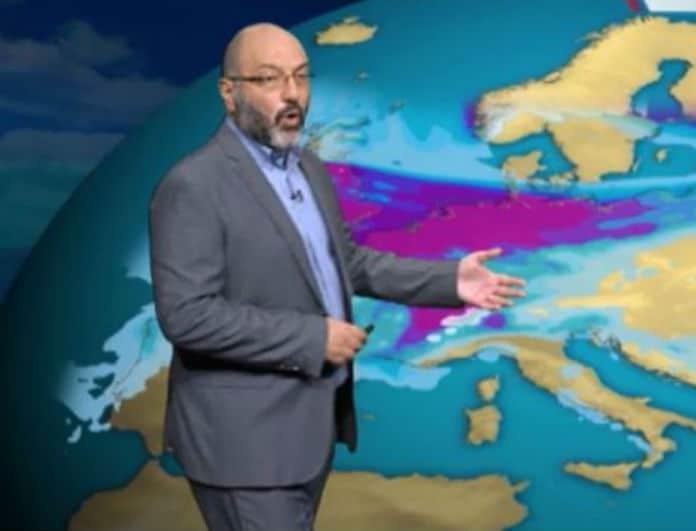 Ο Σάκης Αρναούτογλου προειδοποιεί! «Έρχονται άγριες καταιγίδες από αύριο»!