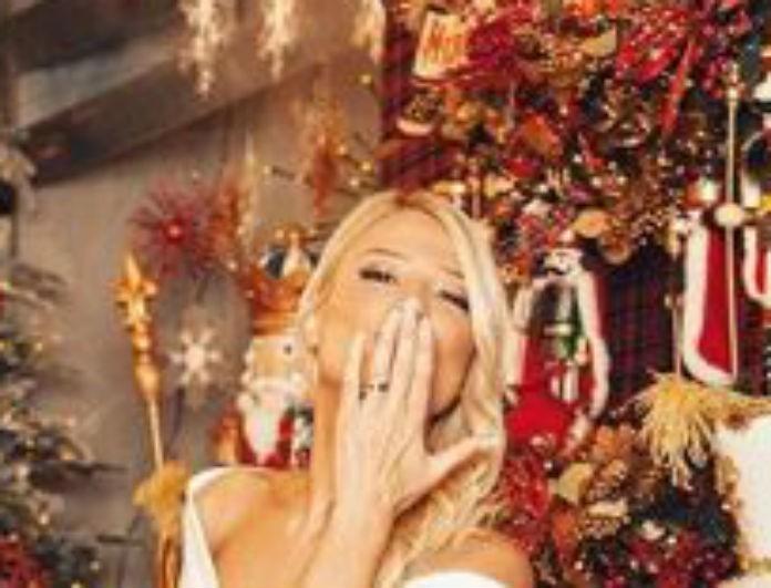 Φαίη Σκορδά: Φόρεσε λευκή ολόσωμη φόρμα και τα γοβάκια της... σταχτοπούτας! Θύμισε πριγκίπισσα...