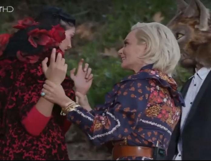GNTM: Εκτός εαυτού η Κέισι! Βγήκε από το σετ - Την κυνηγούσε η Χριστοπούλου!