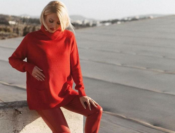 Φαίη Σκορδά: Το κόκκινο ζιβάγκο της βγαίνει σε 7 διαφορετικά χρώματα! Κοστίζει 24,50 και θα το φοράς ακόμα και στον ύπνο σου!