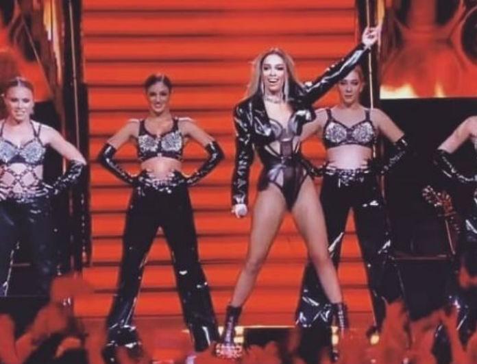Ελένη Φουρέιρα: Πήγε ξανά στην Eurovision και τους τρέλανε όλους με το κίτρινο φόρεμά της! Έβαλε «φωτιά»!