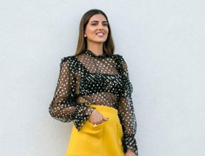Σταματίνα Τσιμτσιλή: Αυτή η φούστα βάζει «τέλος» στο χειμώνα! Είναι κίτρινη και κοντεύει να ξεπουλήσει!