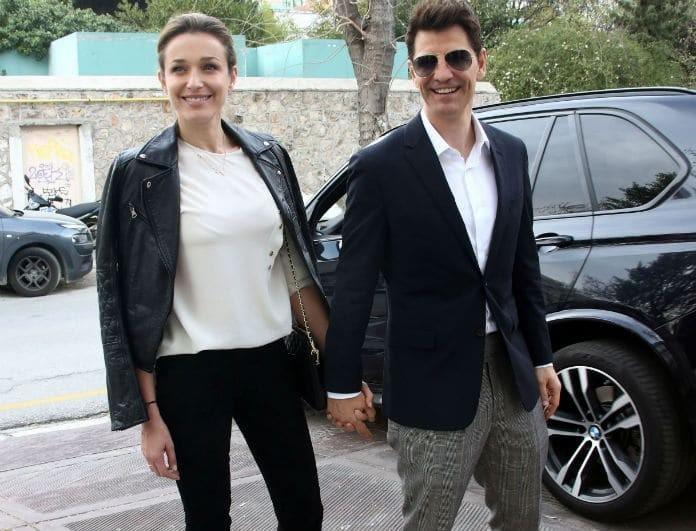 Σάκης Ρουβάς: Τον έσφιξε στην αγκαλιά της η Κάτια Ζυγούλη! Το λευκό αυτοκίνητο και το τοπίο του ονείρου!