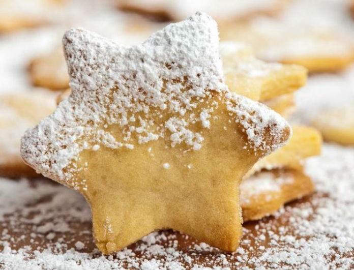 Φτιάξτε εύκολα και γρήγορα Χριστουγεννιάτικα μπισκότα! Θα γλείφουν τα δάχτυλα τους όλοι!