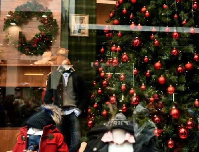Εορταστικό ωράριο Χριστουγέννων: Πότε ξεκινάει και πώς θα λειτουργήσουν τα μαγαζιά