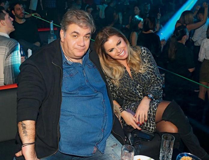 Δημήτρης Σταρόβας: Αγκαλιές με την γυναίκα της ζωής του σε νυχτερινό μαγαζί! Η αποκάλυψη για τον γάμο...