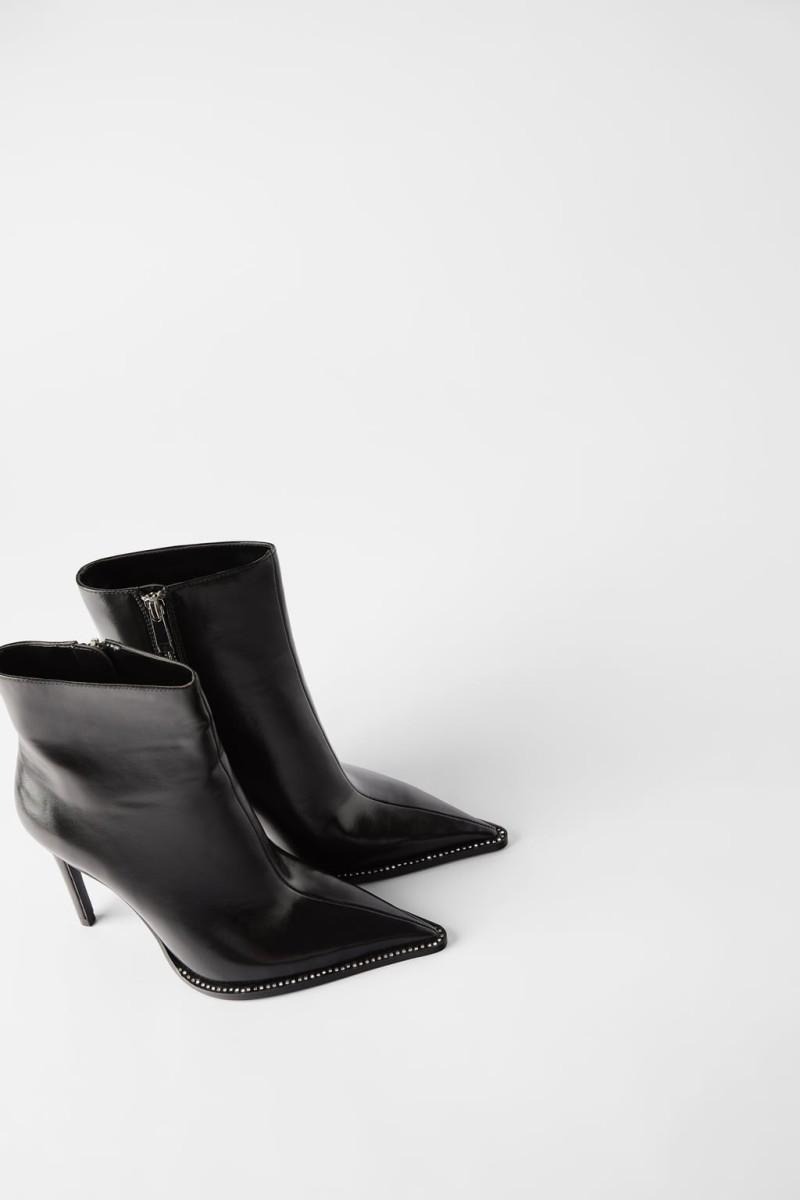 Μποτίνια μαύρα Zara