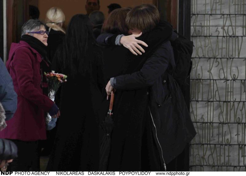 Κηδεία Θάνου Μικρούτσικου Μαρία Παπαγιάννη
