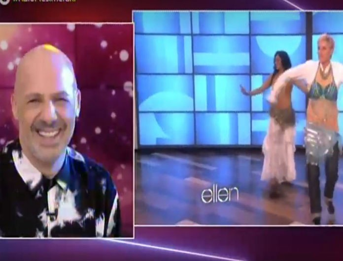 Νίκος Μουτσινάς: Έγινε το αδιανόητο! Χόρεψε Λένα Ζευγαρά η Ellen Degeneres!