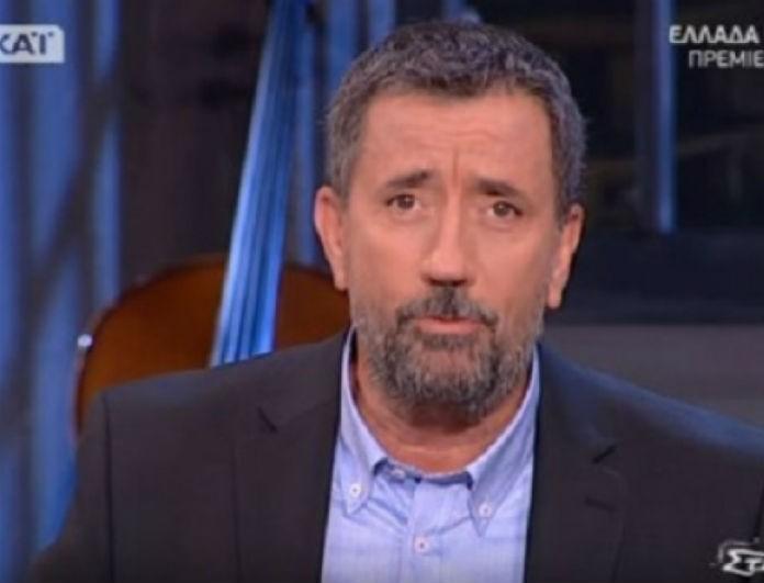 Σπύρος Παπαδόπουλος: Άσχημα τα νούμερα στον ΣΚΑΙ! Ρεκόρ προς... τα κάτω!