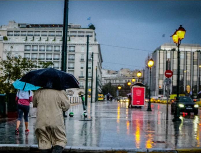 Έκτακτο δελτίο καιρού: Θα «πνιγεί» η Αθήνα από τις βροχές! Πως θα κινηθεί η κακοκαιρία «Διδώ» από ώρα σε ώρα;