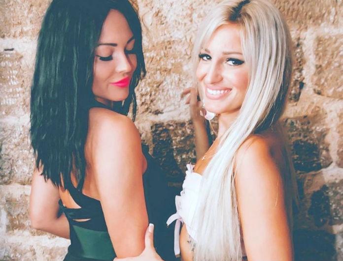 Power of Love: Κατερίνα και Ζένια ποζάρουν εντελώς γυμνές