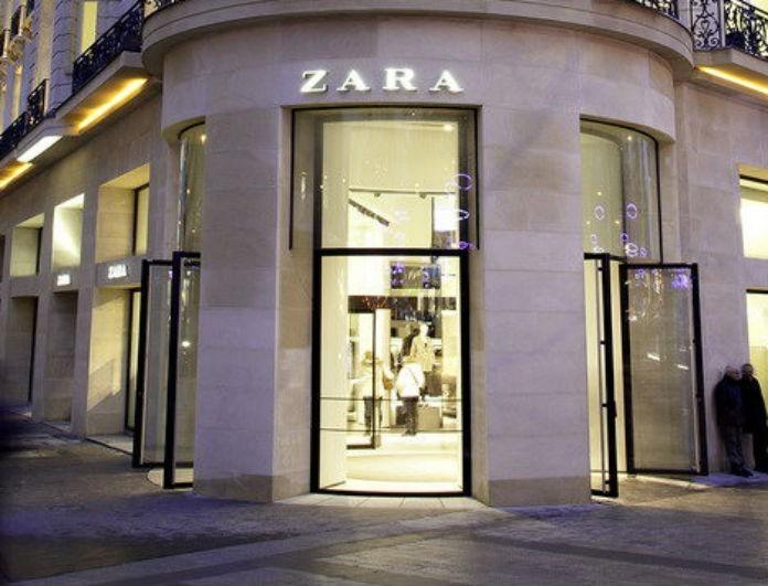 Zara Νέα Συλλογή: Αυτό το φόρεμα είναι μαύρο και έχει κουμπιά! Είναι σαν σακάκι και έχει βάλει
