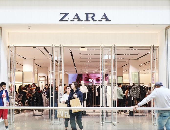 Zara: Το ψιλόμεσο λιλά παντελόνι από τη νέα συλλογή θα βάλει