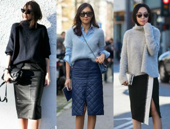 Pencil φούστα: Πώς να την φορέσεις το πρωί και να είσαι in fashion!