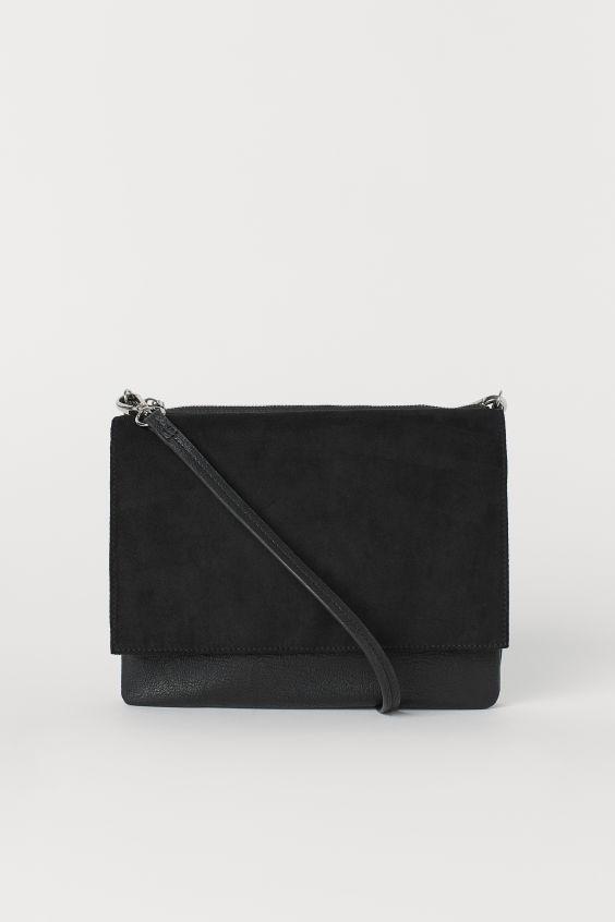 H&M μαύρη τσάντα