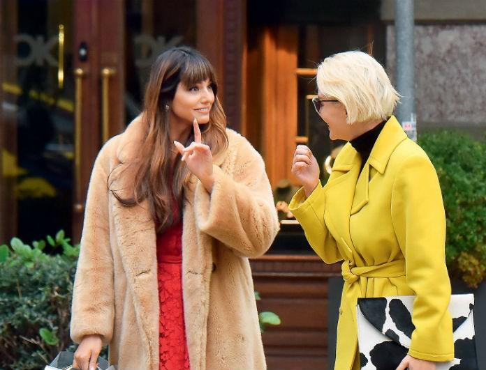 Ηλίανα Παπαγεωργίου: Οι φωτογράφοι την έπιασαν όχι με τον Snik αλλά με την Χριστοπούλου! Φορτωμένες με ψώνια!