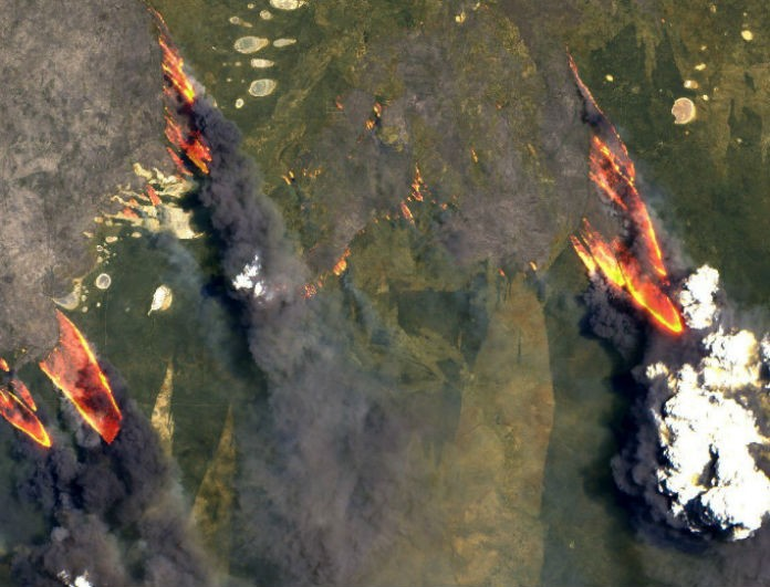 Αυστραλία: Αυξάνεται ο αριθμός των νεκρών! Σοκαριστικές εικόνες από δορυφόρο