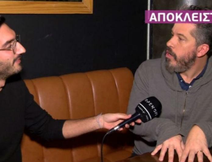 Ο Χάρης Βαρθακούρης τα «πήρε» με ρεπόρτερ της Καινούργιου: «Τι είπες τώρα, σταματάω την συνέντευξη»
