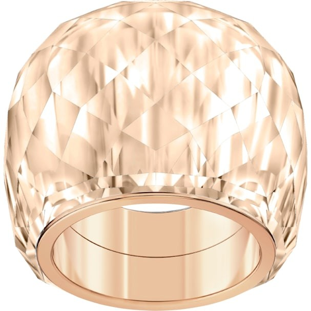 Δαχτυλίδι Swarovski Nirvana Ring Brown Rose-gold Tone Pvd Swarovski Shop