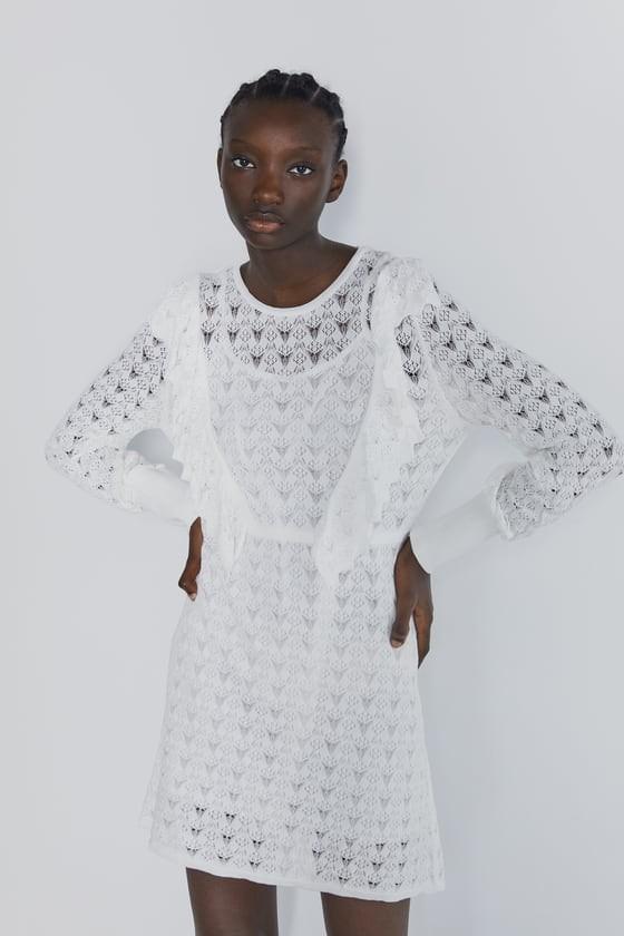 άσπρο φόρεμα
