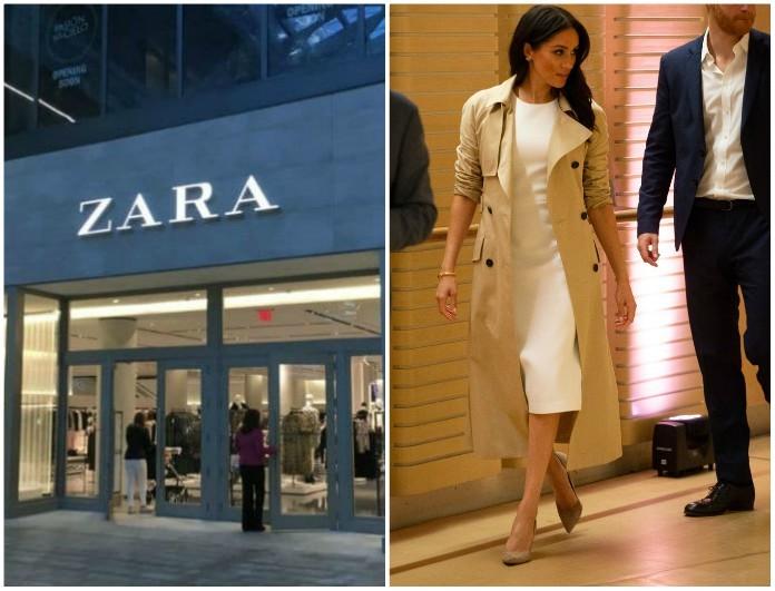 Zara: Κάντο όπως η Μέγκαν Μαρκλ! Το παλτό που κοστίζει μόνο 49.99€ και έχει προκαλέσει φρενίτιδα!