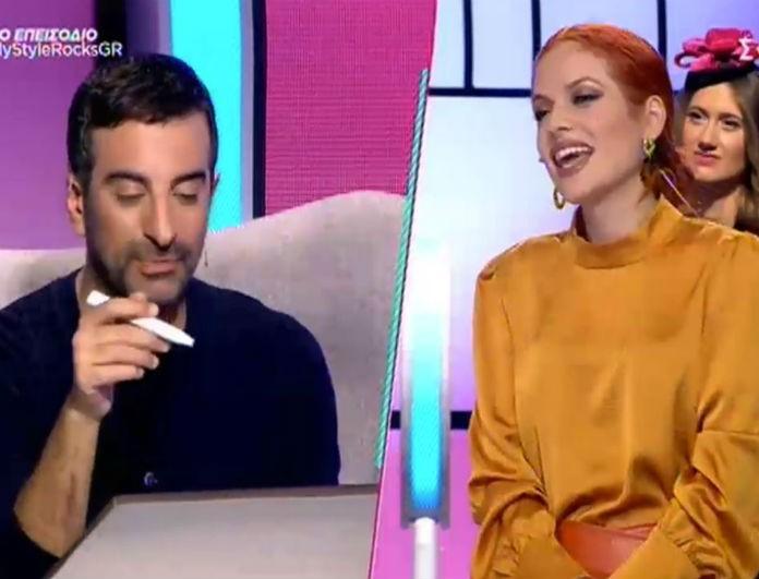 My Style Rocks: Εκτός εαυτού ο Στέλιος Κουδουνάρης με την Τόνια Κούμπα! «Όταν κάποιος βγαίνει στην τηλεόραση...»