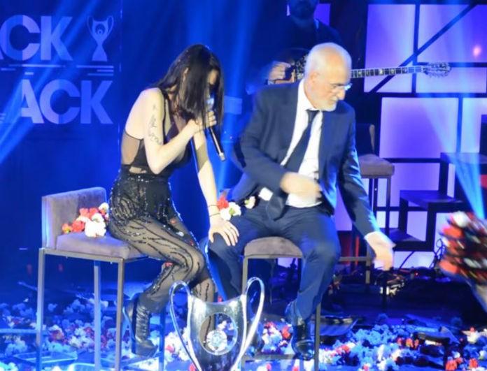 Πάολα: Την γέμισε λουλούδια ο Ιβάν Σαββίδης! Το τραγούδι που τον έκανε να «σπάσει» σε κλάματα!