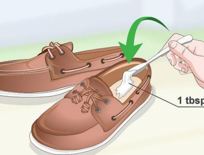 Θα πάθετε πλάκα! Βουτήξτε τα παπούτσια σας σε μαγειρική σόδα! Το αποτέλεσμα θα σας ενθουσιάσει
