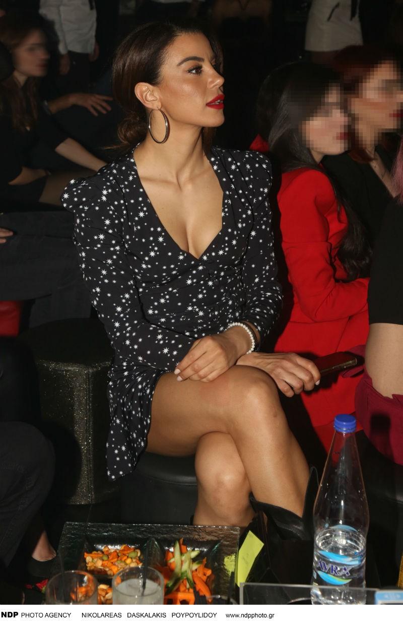 Ειρήνη Παπαδοπούλου μίνι φόρεμα Survivor
