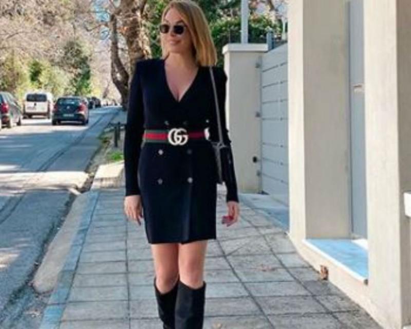 Χωρίς ίχνος μακιγιάζ στο πρόσωπο της η Τατιάνα Στεφανίδου - Συνδύασε φόρεμα με γόβες και «τρέλανε»