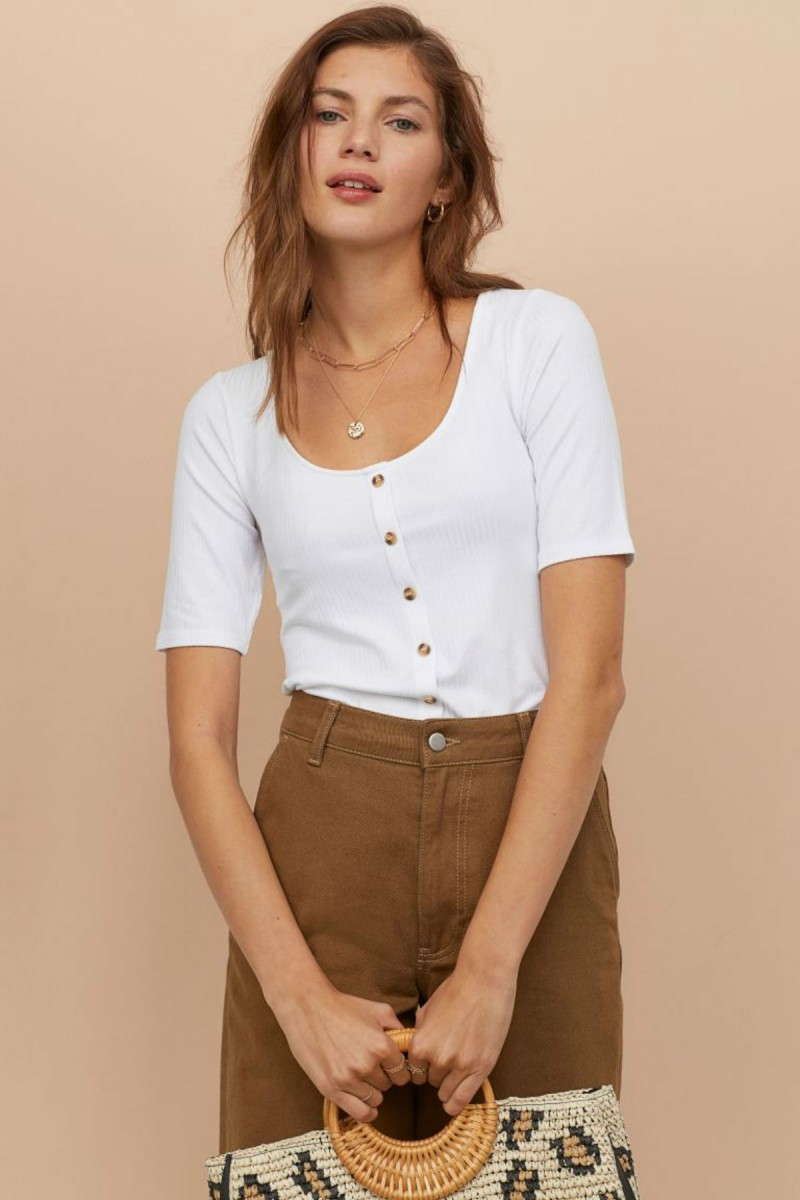H&M white shirt