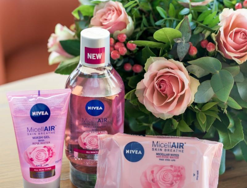 Με το νέο NIVEA MicellAIR Rose Water,  η επιδερμίδα σου ανθίζει κάθε μέρα!
