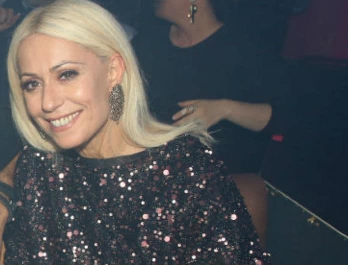 Με το απόλυτο ανδρόγυνο look στο Open η Μαρία Μπακοδήμου - Άκρως εντυπωσιακή