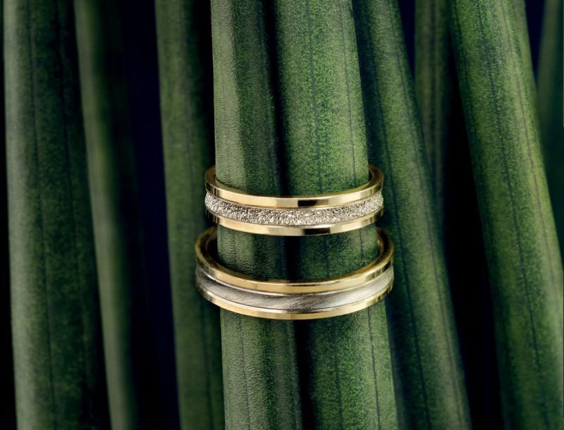 Unique Wedding Rings για μια ολόκληρη ζωή!